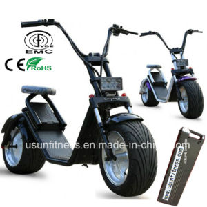 Remove Battery City Coco Electric Scooter with Aluminum Alloy Material pictures & photos