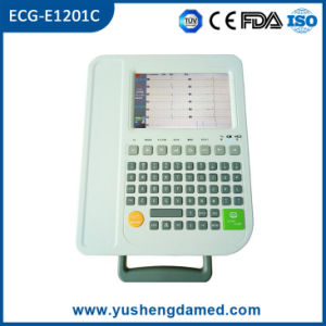 Ce Approved Medical Equipment 12 Channel EKG ECG Machine pictures & photos
