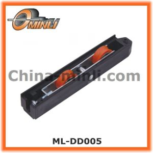 Nylon Roller in Plastic Bracket with Double Roller for Sale (ML-DD005) pictures & photos
