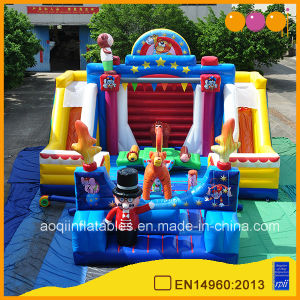 Used Commercial Inflatable Playhouse Bouncers Circus Show Fun City (AQ01649) pictures & photos