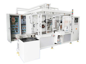 CNC Vertical High-Frequency Induction Heat Treatment Quenching Machine pictures & photos