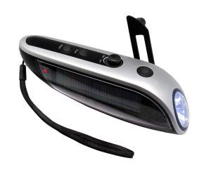 Dynamo Radio Solar Table Lamp Flashlight Alarm