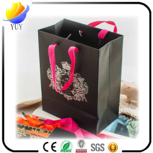 Black Craft Paper Bag and Brown Kraft Shopping Bags pictures & photos