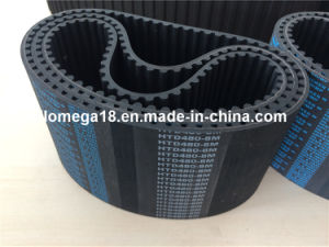 High Performance Rubber Timing Belt for Industry Htd480-8m-100mm pictures & photos
