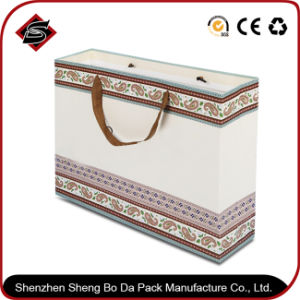 Portable Customzied Logo Paper Gift Packaging Bag pictures & photos