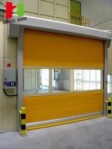 Rapid Rolling Speed Door/High Speed Electric Industrial Fast Roller Door pictures & photos