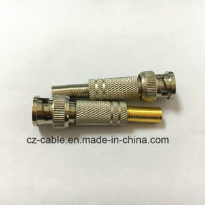 RF Connector, BNC Connector with Spring, for Coaxial Cable pictures & photos