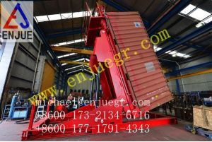 20FT 40FT Grain Silo Hydraulic Container Tilter pictures & photos