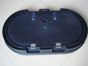 Factory Outlet Hard Plastic Podium Trolley Case (AS-04) pictures & photos