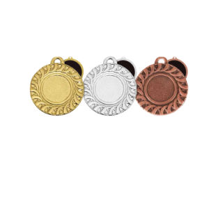 Wholesale Round Two Dimension Code′s Bespoke Medallion pictures & photos