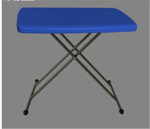 Colorful 30inch Plastic Adjustable Personal Folding Table pictures & photos