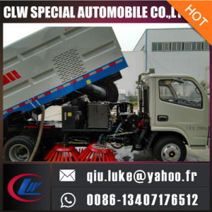 4X2 Mini Vacuum Road Sweeper Truck pictures & photos