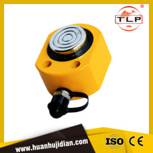 Taizhou Yuhuan Tlp Single-Acting Low Height Mini Hydraulic Cylinder 10t20t30t50t100t pictures & photos