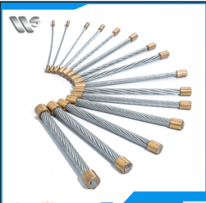 7/0.8mm Galvanized Steel Wire Strand Steel Guy Wire for Optical Fiber Cable pictures & photos