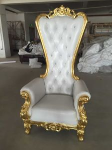 High Quality High Back Hotel Furniture Chair with Pink Color pictures & photos