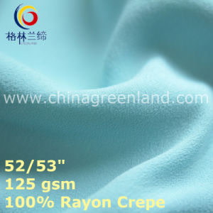 Cotton Rayon Crepe Fabric for Textile Woman Clothes (GLLML434) pictures & photos