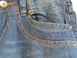 Fashioned Straight Jeans for Women pictures & photos