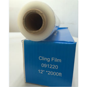 Transparency Food Grade Roll Wrap PE Cling Film pictures & photos