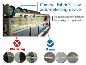 Camera Fabric Detecting Device on Warp Knitting Machine pictures & photos