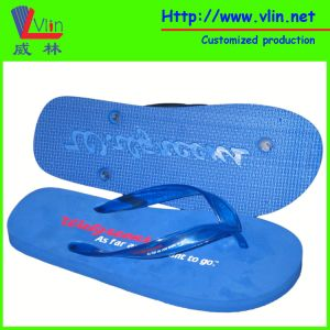 Simple Flip Flops with Die-Cut Logo on Outsole pictures & photos