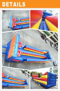 Double Hoops Set Shot Inflatable Basketball Game bungee run pictures & photos