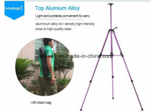 Colorful Metal Painting Easel for Choose Aluminum Easel with Handle pictures & photos