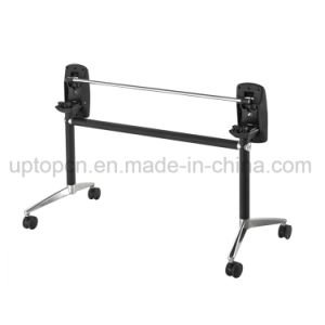 Movable and Foldable Aluminum Alloy Table Base for Large Table Top (SP-FTL085) pictures & photos