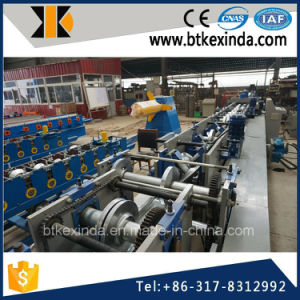 Kxd Full Automatic CZ Purlin Steel Strip Roll Forming Machinery pictures & photos