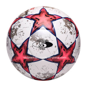 Stunning Thermo Bonded Turf Racing Soccer Ball pictures & photos