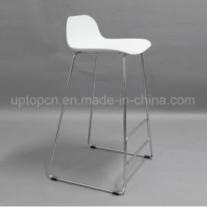 Classcial Black and White Color of Plastic High Bar Stool (SP-UBC327) pictures & photos
