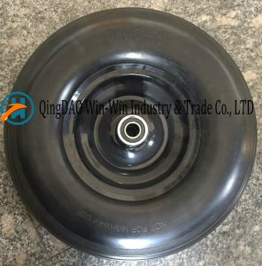 Flat-Free PU Wheel Used on Machine (13*4.00-6) pictures & photos