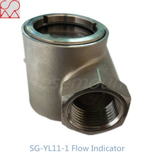 Tianhe Thread Impeller Sight Water Flow Indicator pictures & photos