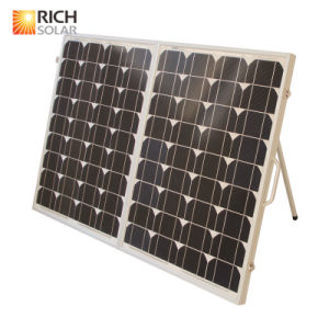 100W 12V Mono Photovoltaic Folding Solar Panel for Home Use pictures & photos