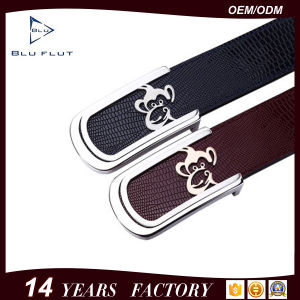 Fashion Leather Accessories Chinese Zodiac Belt Genuine Cowhide Women Waist Belt pictures & photos