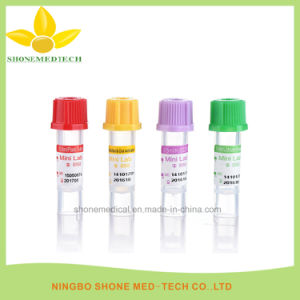 Pet Mini Blood Collection Tube with Various Color pictures & photos
