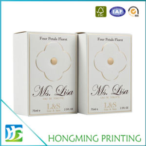 Custom Printed White Paper Skincare Packaging pictures & photos