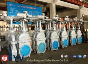 Slide Gate Valve, Parallel Slide Gate Valve with Diversion Hole pictures & photos
