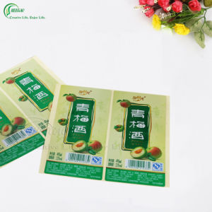 Customized Self Adhesive Paper Sticker Label (KG-PT035) pictures & photos