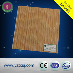 Good-Looking Wooden Color PVC Wall, Factory Price PVC Panel pictures & photos