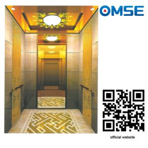 Luxury Decoration Beautiful Passenger Elevator Lift Mrl Type pictures & photos