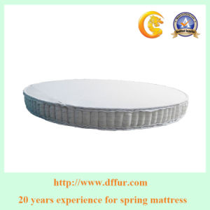Round Mattress Poxket Spring Unit for Hotel Mattress pictures & photos