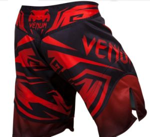 2-Way Stretch 100% Polyester Fight Shorts MMA Shorts pictures & photos