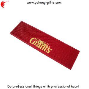 OEM Moulded Soft PVC Bar Mat for Promotion (YH-BM089) pictures & photos
