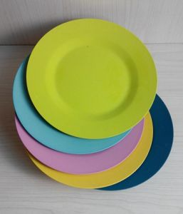 EU Approved Bamboo Fiber Tableware Plate (YK-P3016) pictures & photos