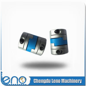 Aluminum Alloy Flexible Shaft Clamp Type Oldham Couplings