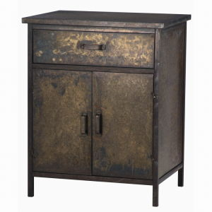 Antique Metal Tin Indoor Home Furnitures Tin Cabinet pictures & photos