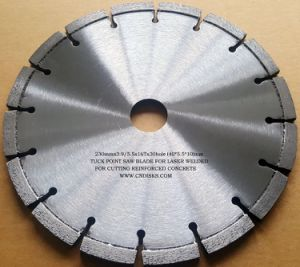 Tuck Point Saw Blade, Silver Brazed Blade pictures & photos