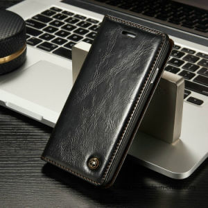 Luxury Leather Wallet Cell Phone Case for iPhone 8/8plus pictures & photos