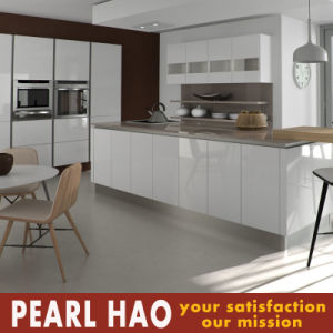 High Gloss White Lacquer Wood Kitchen Cabinet pictures & photos