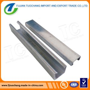 Hot DIP Galvanized Steel Channel U Channel pictures & photos